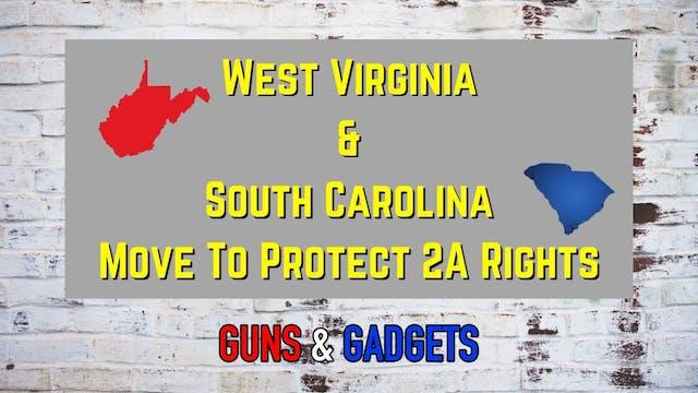 West Virginia  South Carolina Move To...