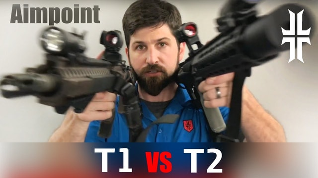 Comparing the Aimpoint T1 to the T2 sights |  M4 & AR-15