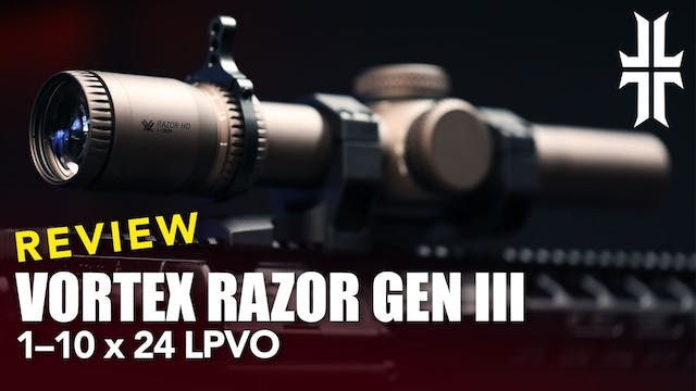NEW Vortex Razor HD 1-10x24 Gen III O...