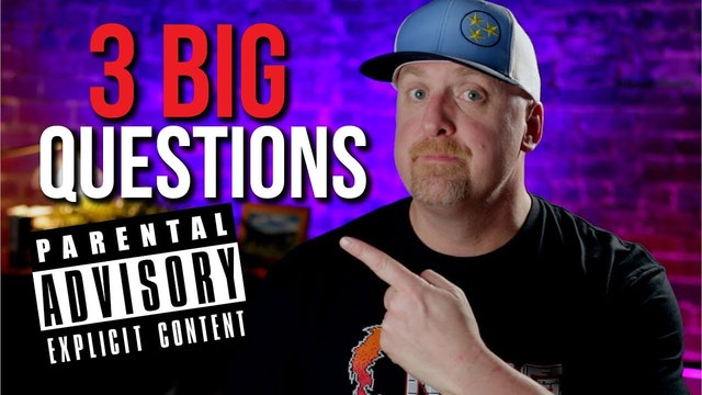 WORD WARNING. 3 Big Questions.