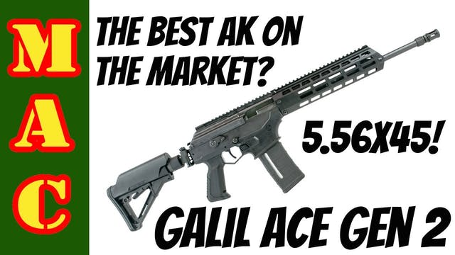 The best AK on the market? New Galil ...