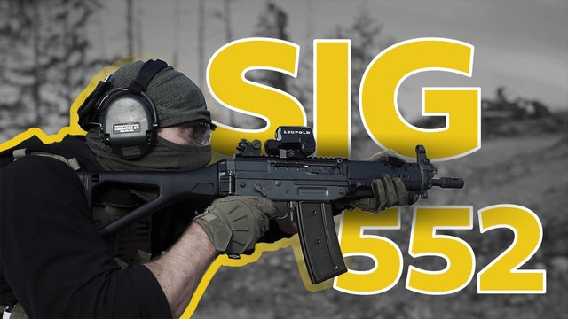 The Grau from COD is real, SIG 552