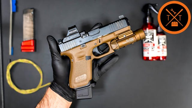SIMPLE Formula for Cleaning Handguns ...