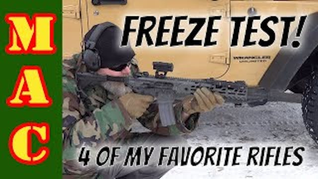 Let's see if we can break them! Freez...