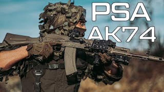 Palmetto State Armory AK74 American made AK74