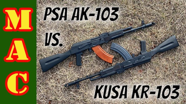 PSA AK103 vs. KUSA KR103 - Which is t...