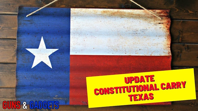 ACT NOW Texas Constitutional Carry Update