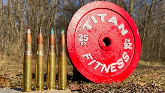 50 Cal vs Steel Olympic Weight 🏋