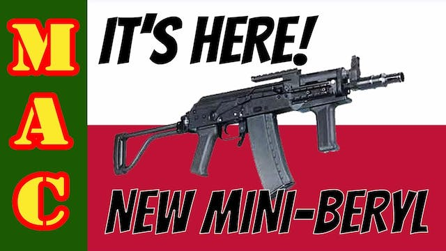 NEW! Mini-Beryl 5.56 Pistol from FB R...