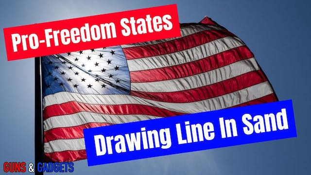 ProFreedom States Drawing Line In San...