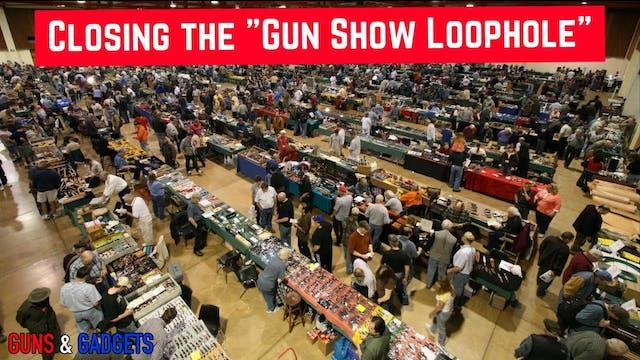 HR167 Closing The Gun Show Loophole