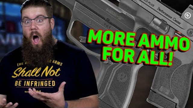 S&W Shield Plus, Ruger Max9, 3D Printed Plastic Silencer - TGC News!