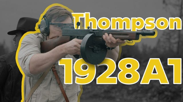 The Thompson Submachinegun
