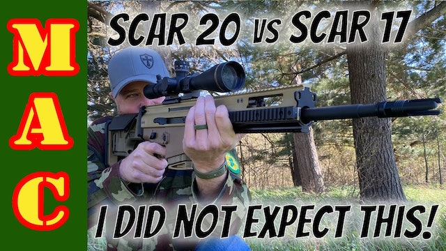 SCAR 20S vs SCAR 17S Accuracy Test - I didn't expect this!
