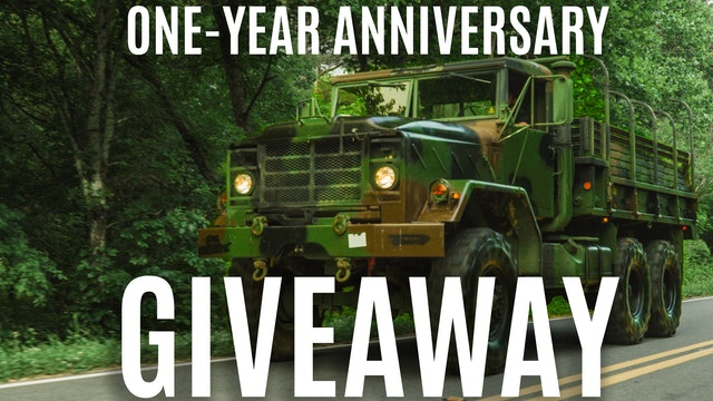 One-Year Anniversary Giveaway
