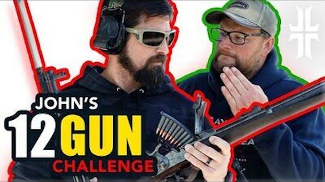 12 Gun Challenge w_ @Iraqveteran8888