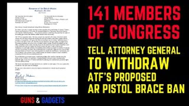 141 Congress Members Tell Attorney Ge...