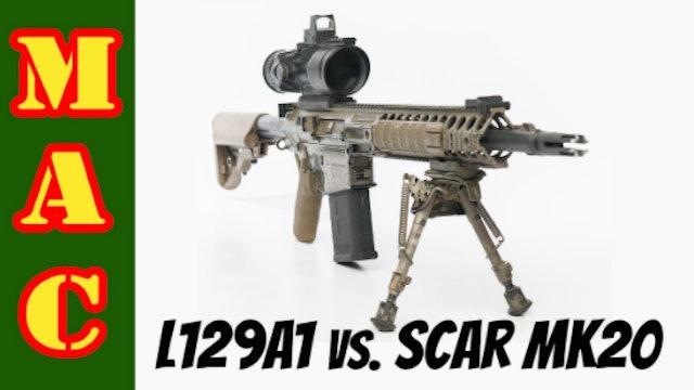 LMT L129A1 Sharpshooter vs. SCAR Mk20