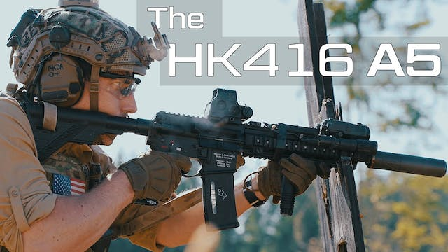 The HK416 A5, the newest variant