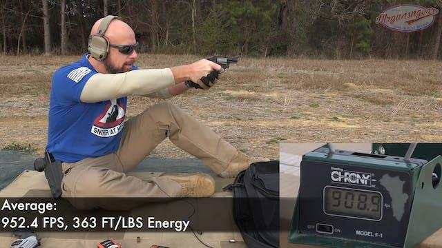 357 Magnum Vs. 38 Special In Snub Nos...