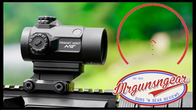 Primary Arms SLx MD25 Micro Red Dot With ACSS Reticle