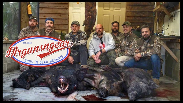Hog Hunt With Donut Operator, Kentucky Ballistics, Chuck Liddell, & The AK Guy