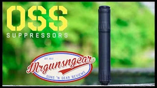 OSS Suppressors RAD 45 Modular Silencer Test  Review