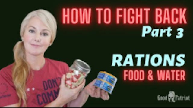 FOOD & WATER Prepping - How To Fight ...