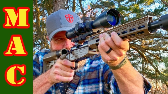 The ultimate evolution of the bolt action rifle? Definitive Arms DASA.
