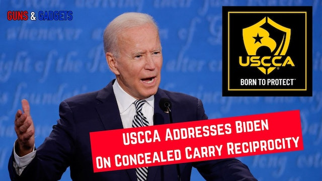USCCA Addresses Biden On Concealed Carry Reciprocity