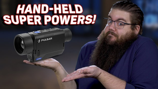 Is This The Future? - Pulsar Axion XM30S Thermal Monocular!