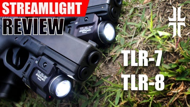 Streamlight TLR-7 and TLR-8 FLASHLIGH...