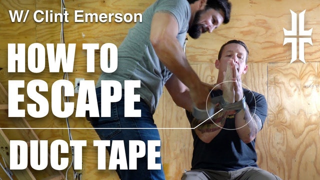 100 Deadly Skills | How to Escape Duct Tape