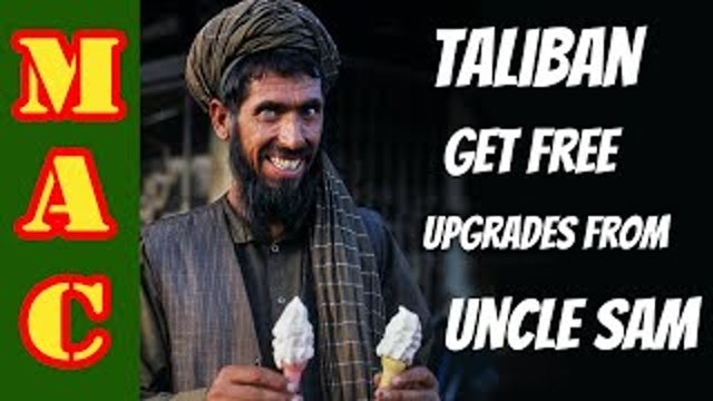 Five American small arms adopted by the Taliban - Disgusting!