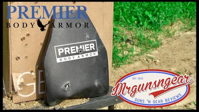 Premier Body Armor STRATIS Level IV MultiCurve Lightweight Plate Test