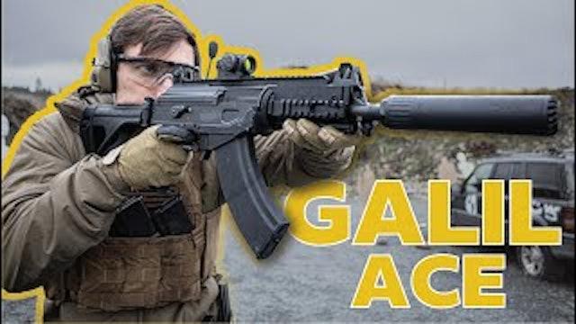 The Galil ACE 7.62x39 Pistol