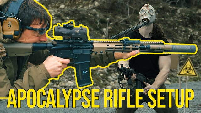 Rifle for the APOCALYPSE