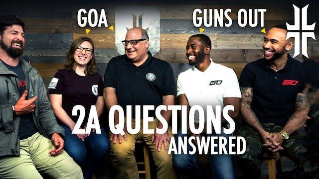 The Big ANTI 2A Arguments w GunsOut T...