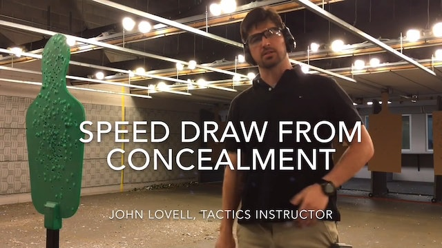 FAST Draw | Shooting from Concealment