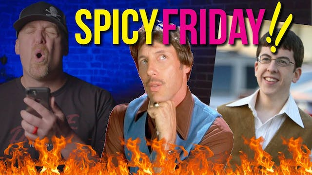 HOLY UNCLE RICO ITS SPICY FRIDAY