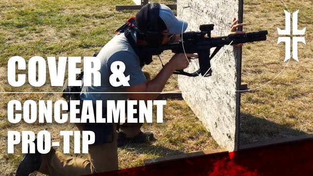 How to Brace on Cover & Concealment