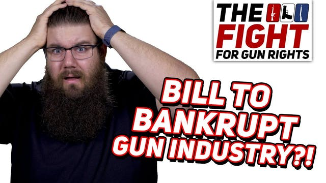 Bill to SUE Gun Makers  The Fight For...