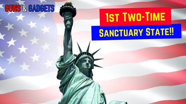 The 1st Two Time Sanctuary State