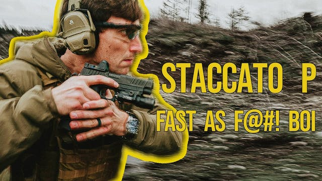 Staccato, the fastest service pistol.