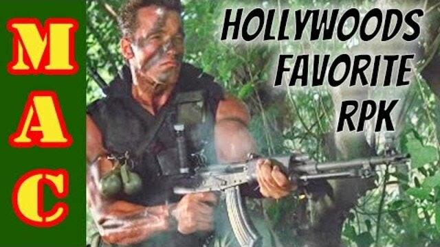 Hollywoods favorite RPK from the 80s  Finlands Valmet RPK