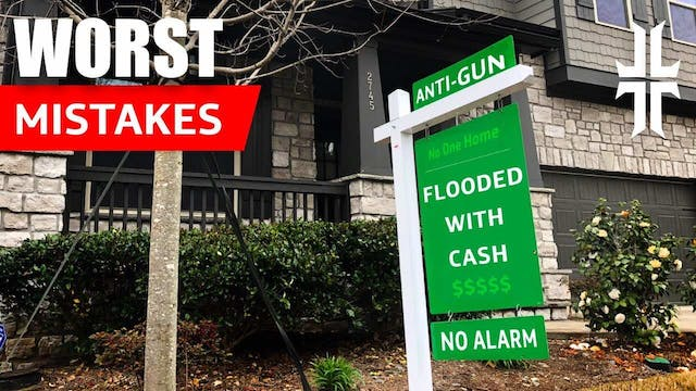 4 Worst Home Security Mistakes