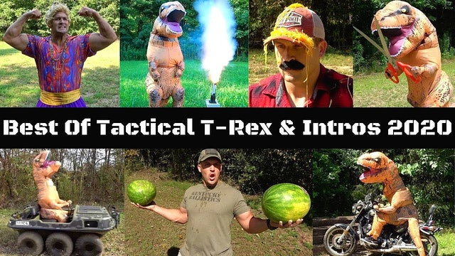 BEST OF TACTICAL T-REX & INTROS 2020 🦖