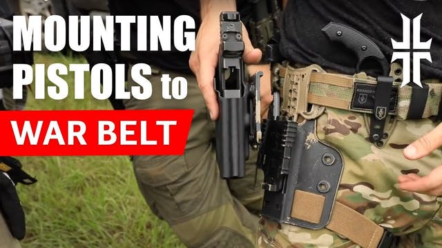 Mounting Pistols to War Belts