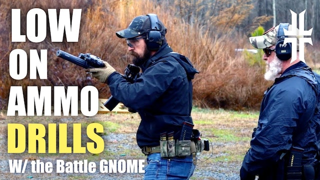 Rifle Range Day - Drills for when Ammo is Scarce