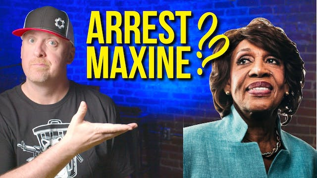 MAXINE WATERS  Gas on a FIRE